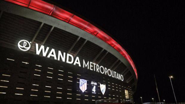 Wanda consigue 'publicidad gratuita' en el Metropolitano