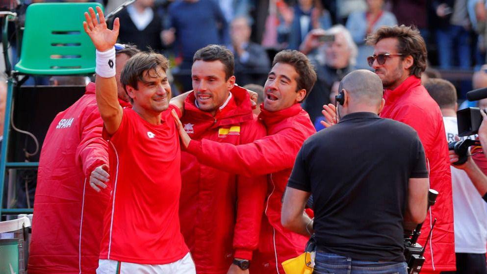 Ferrer consigue que España llegue a semifinales de la Davis