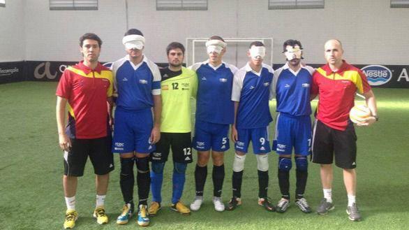 Ya tenemos seleccionados para el Mundial de fútbol para ciegos