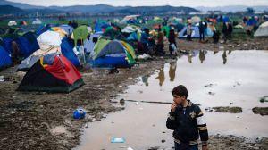 Grecia es ahora una ratonera para refugiados