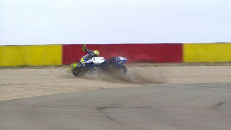 Rossi hospitalizado por precaución