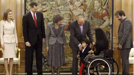 Condecoran a Teresa Perales y Pau Gasol con la Medalla de Oro al Trabajo