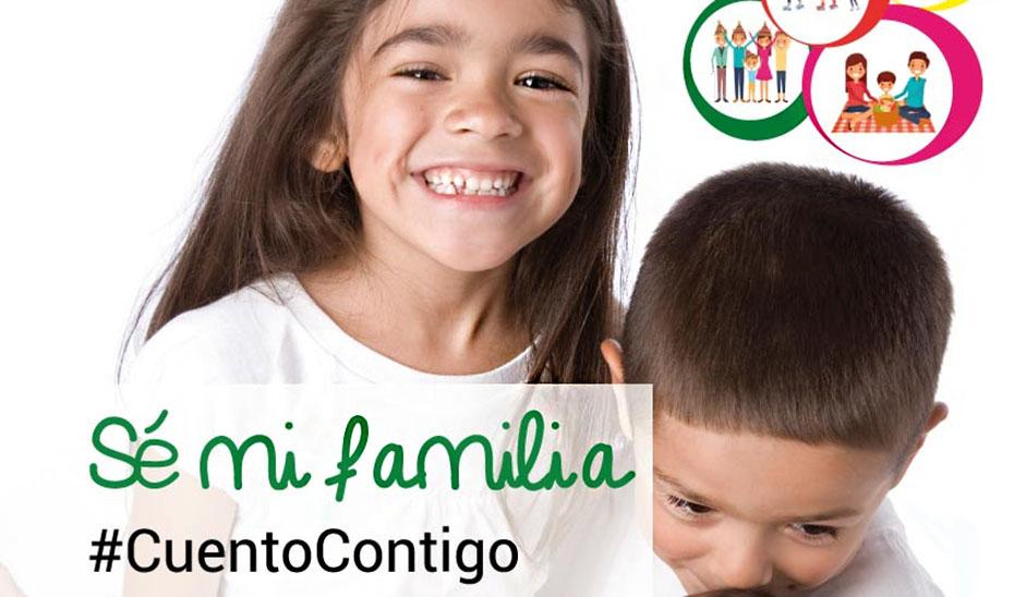 Rostros famosos buscan hogares andaluces para más de 3.700 niños y niñas