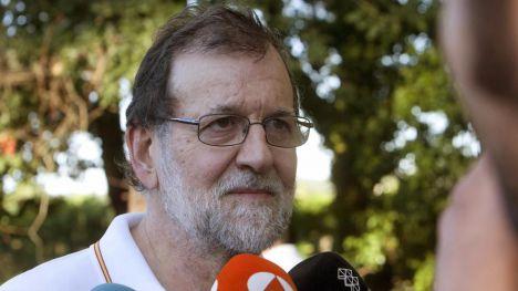 Rajoy no moverá un dedo hasta el 1-O