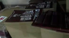 Se interviene más de 1.300.000 carteles destinado a publicitar el referéndum suspendido por el Tribunal Constitucional