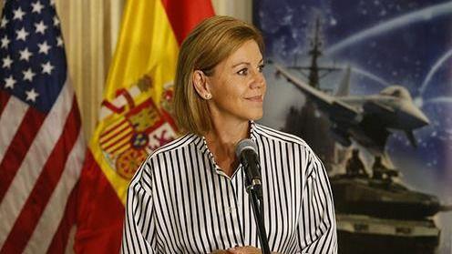 Mattis expresa a Cospedal el apoyo a la democracia española