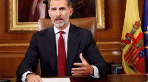 Felipe VI sale en defensa de la unidad de España