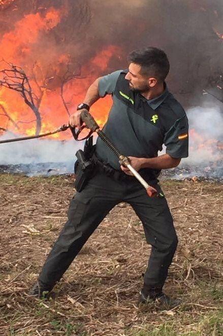 Galicia registra 60 fuegos