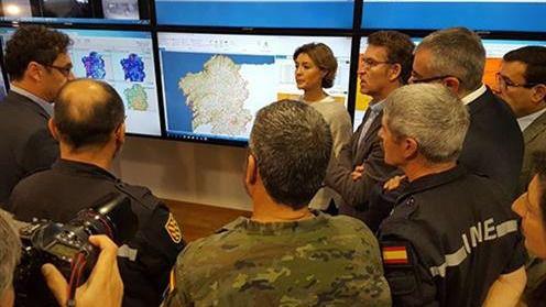 García Tejerina: 'La sociedad tiene que ser absolutamente intolerante contra los incendiarios'