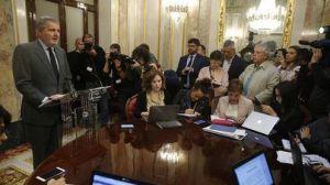 Declaración institucional del ministro portavoz del Gobierno tras la respuesta de Carles Puigdemont