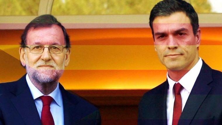 Sánchez y Rajoy pactan para llevar a Cataluña a elecciones