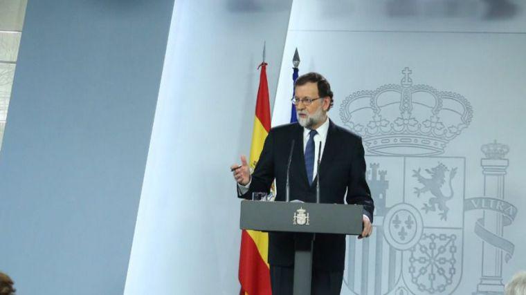 Activado el artículo 155 en Cataluña