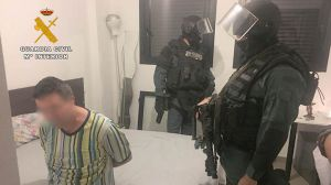 La Guardia Civil desarticula un peligroso clan de atracadores de entidades bancarias