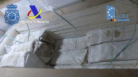 Interceptados 1.109 kilos de cocaína ocultos en un contenedor procedente de Colombia con destino a España