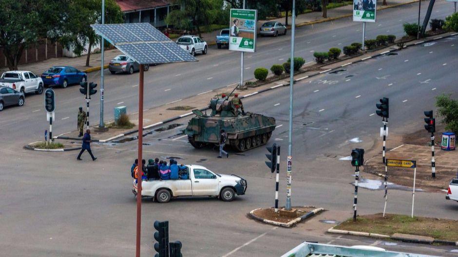 Crisis en Zimbabue