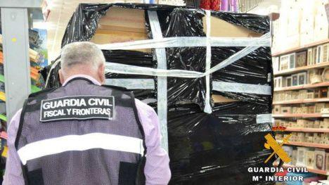 La Guardia Civil retira de la venta más de 3.200 juguetes por no reunir condiciones de seguridad