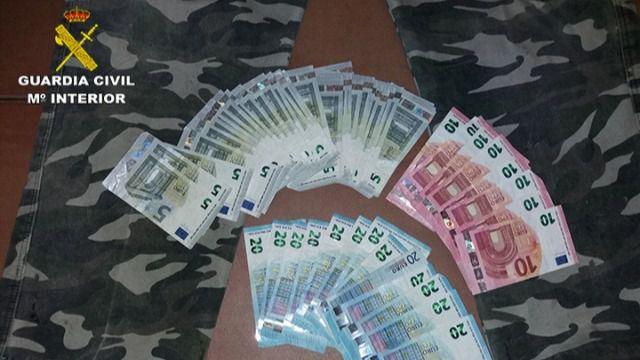 La Guardia Civil detiene al atracador de una sucursal bancaria en Lucillos (Toledo)
