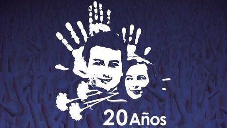 Homenaje a Alberto Jiménez-Becerril y Ascensión García Ortiz a los 20 años de su asesinato por parte de ETA