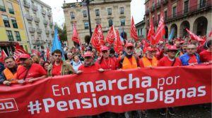 UGT y CCOO vuelven a las calles por las 'pensiones dignas'