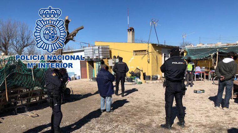 La Policía Nacional esclarece la muerte de un varón cuyo cadáver apareció flotando en el río Júcar