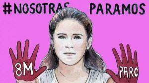 Las senadoras y congresistas de Unidos Podemos donarán su sueldo de la huelga a organizaciones feministas