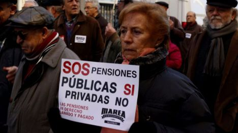 Los pensionistas amenazan con más huelgas