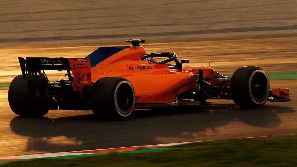 Final agridulce de la pretemporada de Alonso