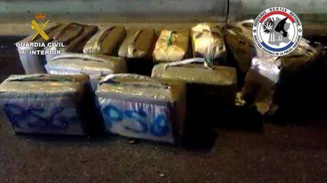 Desarticulada una organización criminal dedicada al transporte de drogas desde España a Francia