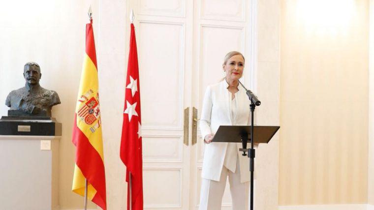 Cristina Cifuentes no puede más y dimite