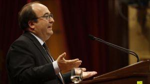 Iceta advierte a Torra sobre el negro futuro de Cataluña