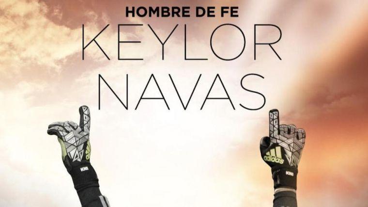 Keylor Navas, hombre de fe
