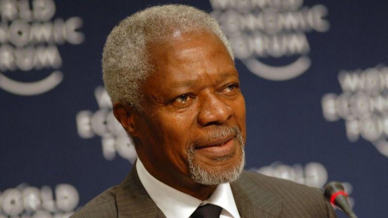 Ha fallecido Kofi Annan