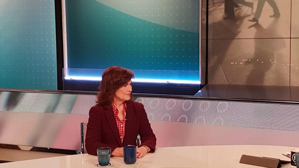 Carmen Calvo: 'Nos preocupa y nos ocupan las verdades de lo que pasa en la vida de Cataluña'