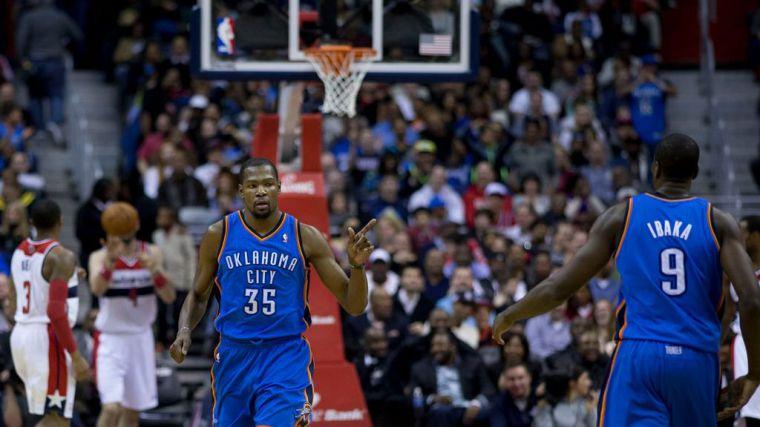 Los Lakers podrían hacerse con Kevin Durant