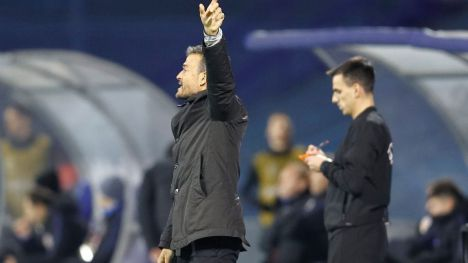 Luis Enrique: 'Me encantaría estar en la Final Four, pero el objetivo es la Eurocopa'