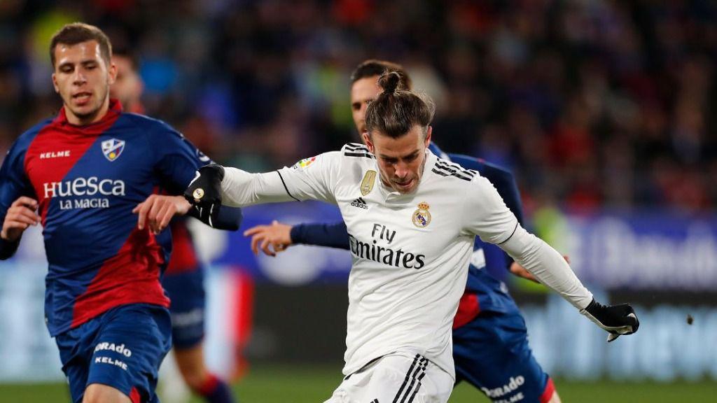 El Real Madrid gana por los pelos al Huesca
