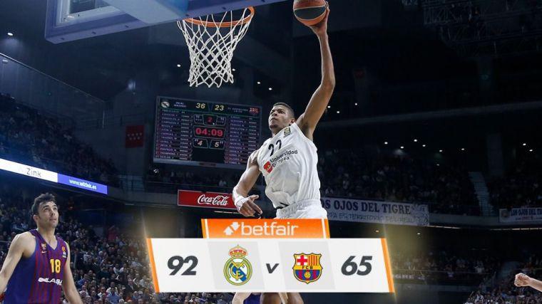 El Barça no puede con el Madrid