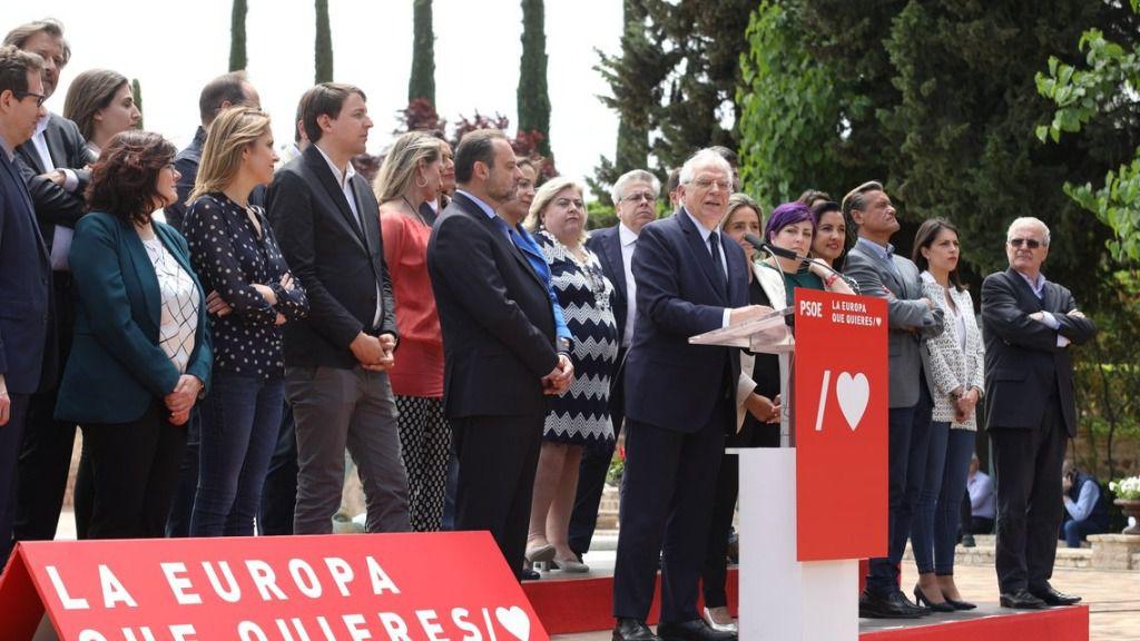 Borrell aboga por una Europa socialista, 'justa, abierta al mundo, tolerante y cohesionada'