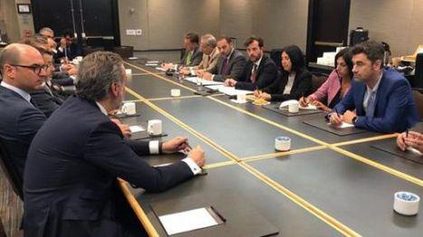 Ábalos refuerza las relaciones institucionales con Canadá y la presencia de las empresas españolas en materia de infraestructuras
