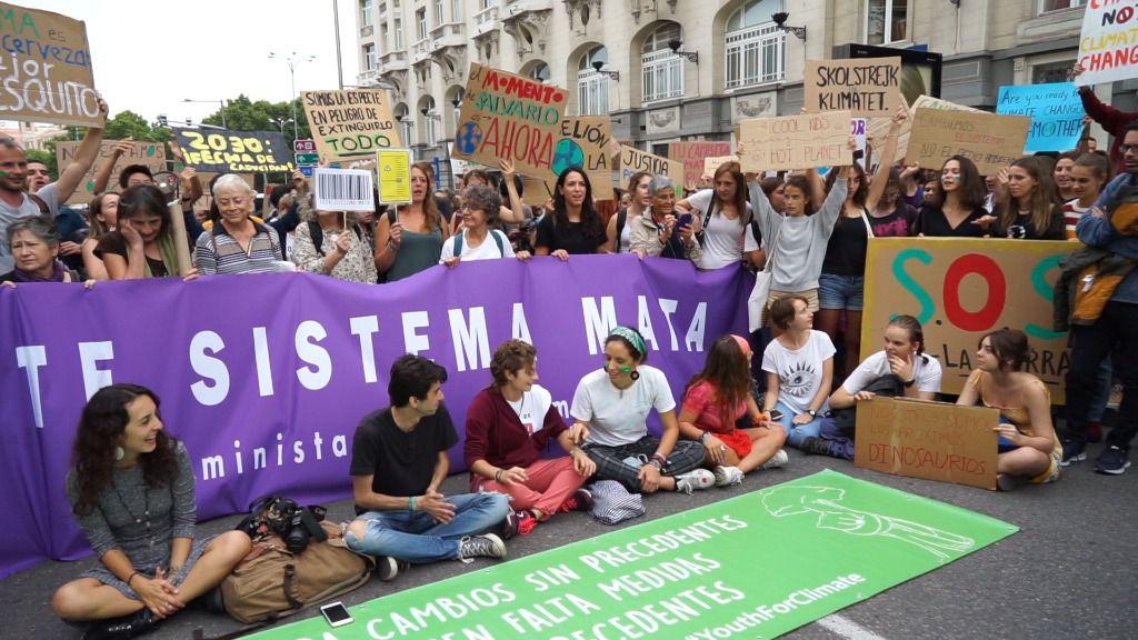 Podemos se suma a la huelga climática del 27 de septiembre