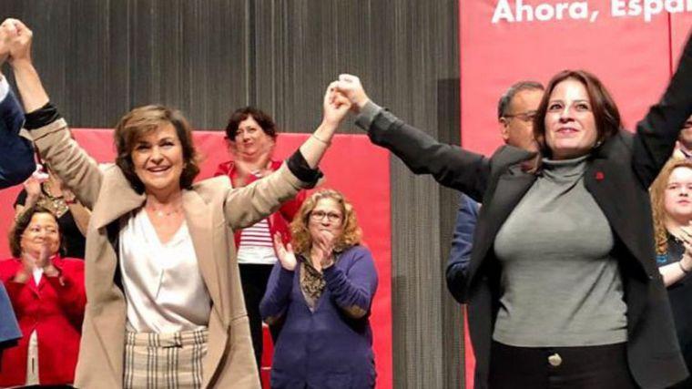 Adriana Lastra: 'Esta vez también estamos solos defendiendo la convivencia en Cataluña'