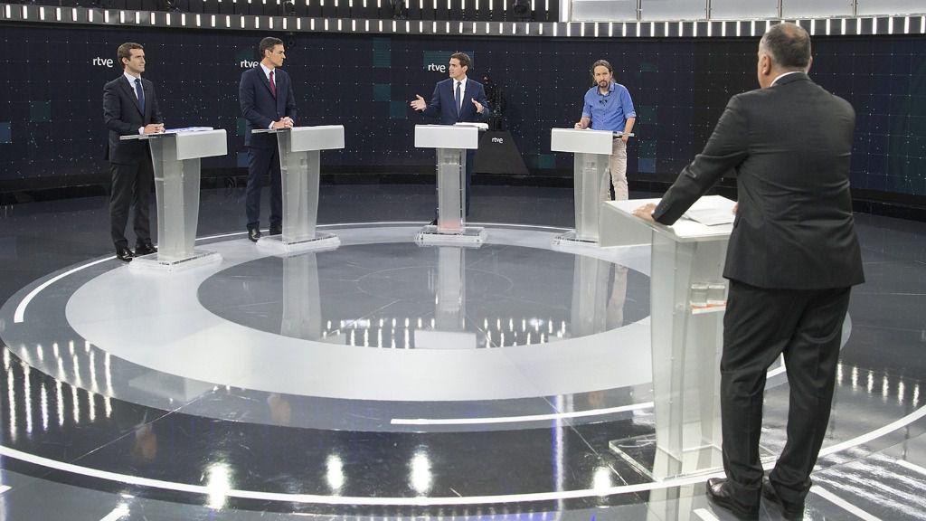RTVE, referente en los debates electorales