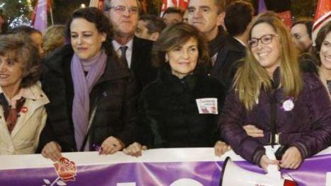 Carmen Calvo: 'Este país sabe mucho de víctimas y de terror y no vamos a consentir ni un paso atrás'