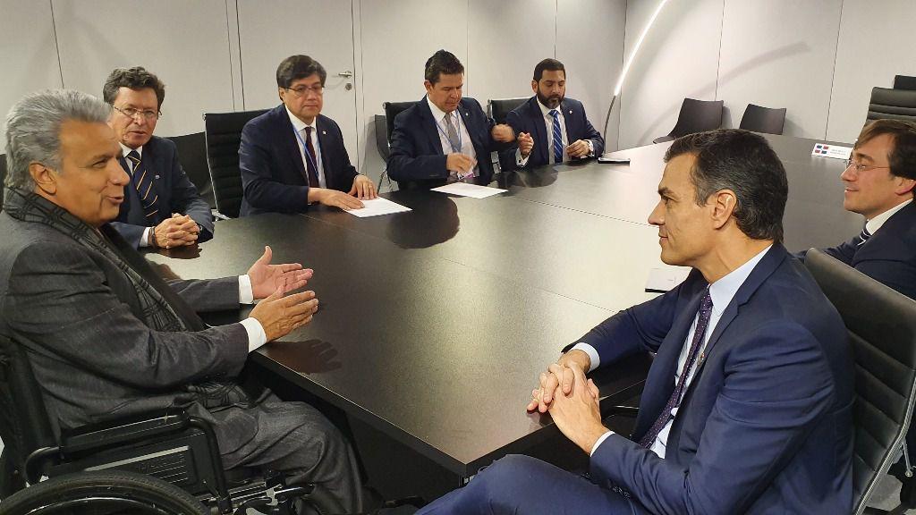 Sánchez se convierte en el resorte de la lucha contra el cambio climático