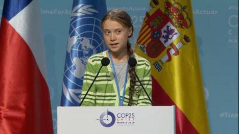 Greta Thunberg pide a los negociadores de Naciones Unidas que se centren en la