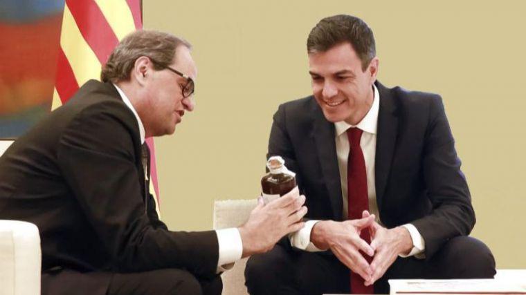 Sánchez se reunirá con Torra 'cuando haya un Gobierno'