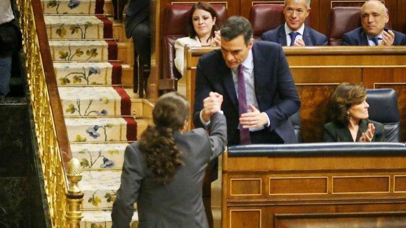 """Sánchez afirma que """"la responsabilidad fiscal"""" será la """"guía"""" de su política económica"""