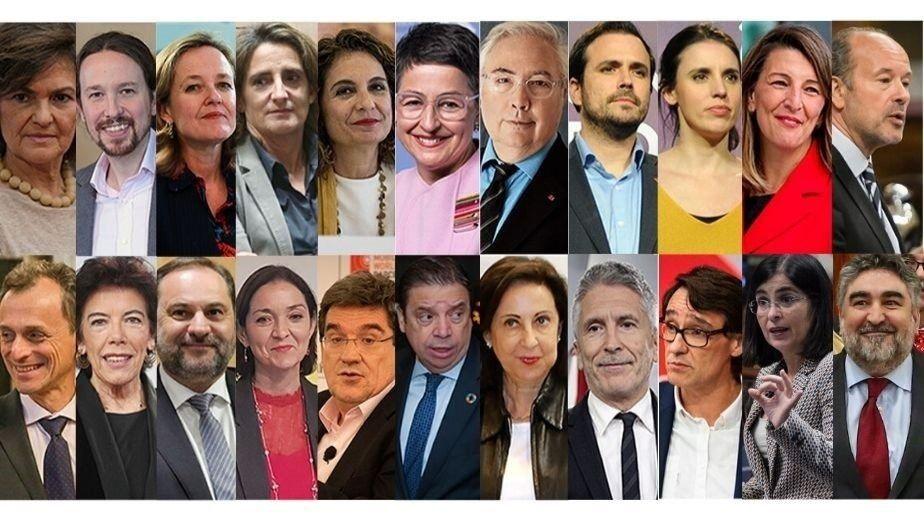 Estos son los 22 ministros del Gobierno de Pedro Sánchez