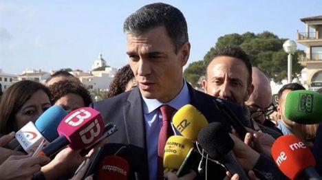 Pedro Sánchez afirma que el Gobierno no escatimará recursos para paliar los efectos de la borrasca Gloria