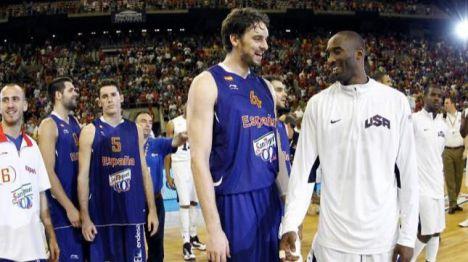 El baloncesto español no olvidará a Kobe Bryant